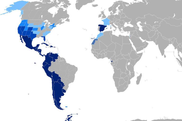 El español en el mundo en video